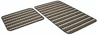 Набор ковриков Shahintex PP Loop Loop 50x80/50x40 (серый) -