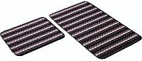 Набор ковриков Shahintex PP Loop Loop 50x80/50x40 (фиолетовый) -