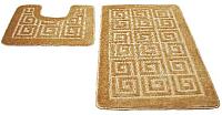 Набор ковриков Shahintex РР 50x80/50x50 (бисквитный) -