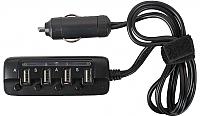 Зарядное устройство автомобильное Ginzzu GA-4430UB (черный) -