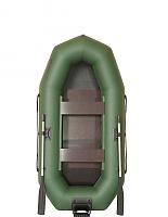 Надувная лодка Лоцман С-280 М П РС (зеленый) -