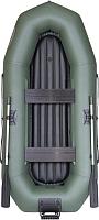 Надувная лодка Лоцман Профи С-280 М ВНД (зеленый) -