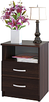 Прикроватная тумба Сокол-Мебель Сокол-Мебель КТ-09.1 (венге) -