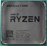 Процессор AMD Ryzen 5 3400G AM4 / YD3400C5M4MFH -