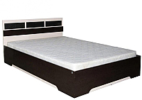 Полуторная кровать SV-мебель Спальня Эдем 2 140x200 (дуб венге/дуб млечный) -