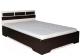 Двуспальная кровать SV-мебель Спальня Эдем 2 160x200 (дуб венге/дуб млечный) -