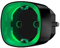 Розетка с Wi-Fi Ajax Socket / 13327.34.BL1 (черный) -