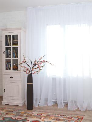 Гардина Delfa СТШ Voile W191/70000 (300x250, белый)