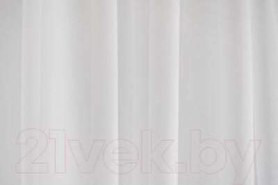 Гардина Delfa СТШ Voile W191/70000 (500x250, белый)
