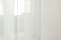 Гардина Delfa СТШ Voile W191/71002 (400x250, молочный) -