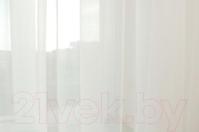 Гардина Delfa СТШ Voile W191/71002 (500x250, молочный)