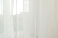 Гардина Delfa СТШ Voile W191/71002 (500x270, молочный) -