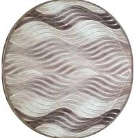 Ковер Angora Fialka Daire ZK460 (1.6x1.6, cream/brown) -