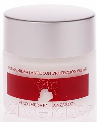 Крем для лица Aloe Plus Lanzarote, Увлажняющий с вином и алоэ вера (50мл), Испания  - купить со скидкой