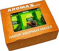 Набор эфирных масел Saules Sapnis Хвойный (3x10мл) -