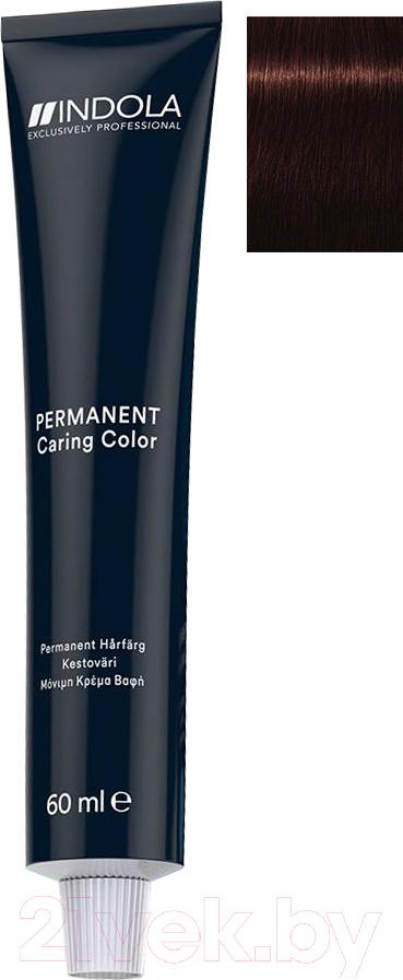 Купить Крем-краска для волос Indola, Red&Fashion Permanent 4.68 (60мл), Германия, шатен