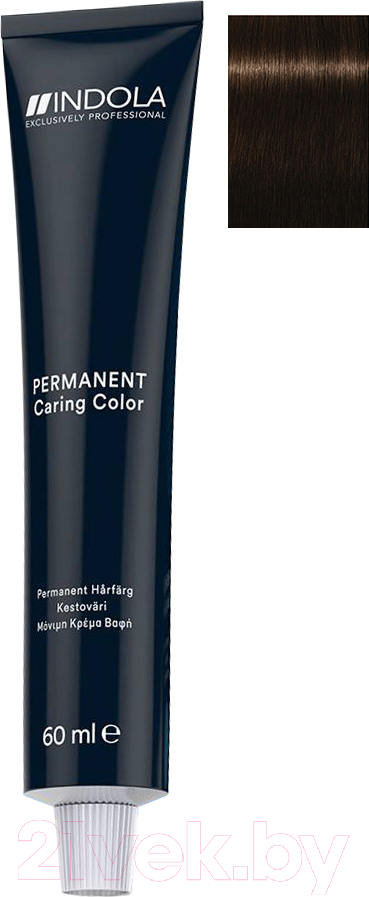 Купить Крем-краска для волос Indola, Red&Fashion Permanent 4.86 (60мл), Германия, шатен