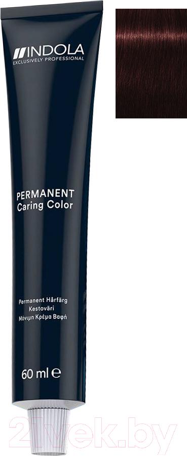 Купить Крем-краска для волос Indola, Red&Fashion Permanent 5.67 (60мл), Германия, шатен