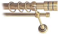 Карниз для штор Lm Decor Цилиндр 088 2р гладкий 25/16мм (антик, 2.4м) -