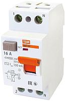 Дифференциальный автомат TDM ВД1-63-2Р-16А-10мА / SQ0203-0002 -