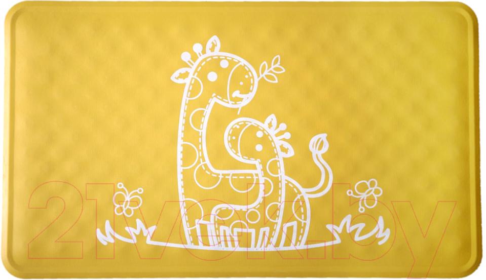 Купить Коврик для купания Roxy-Kids, BM-M164Y (желтый жираф), Китай