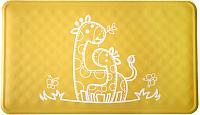 Коврик для купания Roxy-Kids BM-M164Y (желтый жираф) -