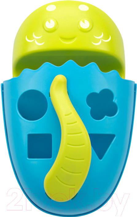 Купить Органайзер детский для купания Roxy-Kids, Dino / RTH-001Y (голубой), Китай