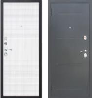 Входная дверь Юркас Гарда Муар 10мм Белый ясень (86x205, левая) -