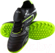 Бутсы футбольные Atemi SD300 TURF (черный/салатовый, р-р 40) -