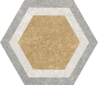 Декоративная плитка Codicer Gres Traffic Combi Hex (250x220) -
