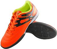 Бутсы футбольные Novus NSB-20 Indoor (оранжевый, р-р 43) -