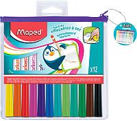 Набор маркеров для доски Maped Marker Pep's / 741817 (12шт) -