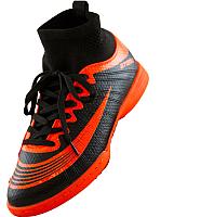 Бутсы футбольные Atemi SD100 TURF (черный/оранжевый, р-р 42) -