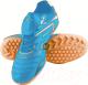 Бутсы футбольные Atemi SD300 TURF (голубой/оранжевый, р-р 34) -