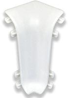 Уголок для плинтуса Ideal Комфорт 001 Белый (внутренний) -