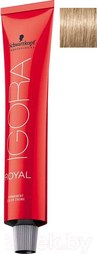Купить Крем-краска для волос Schwarzkopf Professional, Igora Royal Permanent Color Creme 8-0 (60мл), Германия, блонд