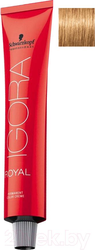 Купить Крем-краска для волос Schwarzkopf Professional, Igora Royal Permanent Color Creme 8-55 (60мл), Германия, блонд
