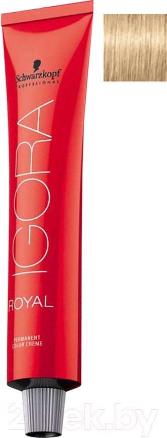 Купить Крем-краска для волос Schwarzkopf Professional, Igora Royal Permanent Color Creme 9-0 (60мл), Германия, блонд