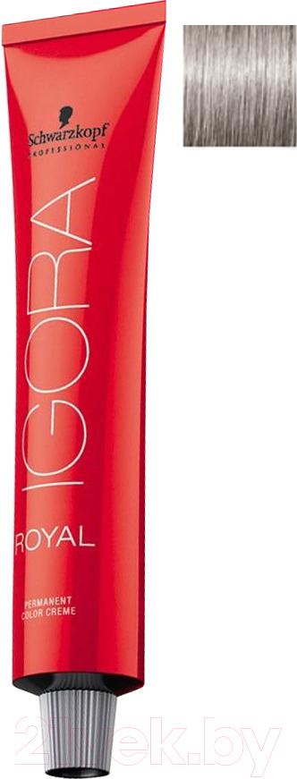 Купить Крем-краска для волос Schwarzkopf Professional, Igora Royal Permanent Color Creme 9-1 (60мл), Германия, блонд