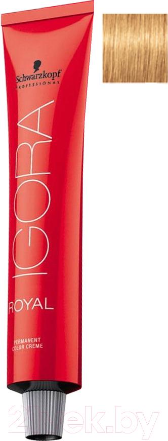 Купить Крем-краска для волос Schwarzkopf Professional, Igora Royal Permanent Color Creme 9-55 (60мл), Германия, блонд