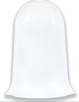 Уголок для плинтуса Ideal Комфорт 001 Белый (наружный) -