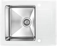 Мойка кухонная ZorG GS 6250 (белый) -