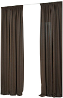 Шторы Delfa СШД-050 Rulli/86 (160x250, коричневый/tabaco) -