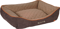 Лежанка для животных Scruffs Thermal Box Bed / 677298 (коричневый) -