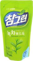 Средство для мытья посуды Lion Chamgreen зеленый чай (300мл) -