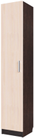 Шкаф-пенал SV-мебель №7 (дуб венге/дуб млечный) -