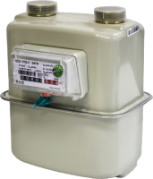 Счетчик газа бытовой БелОМО СГД 4 G4 ТИ (левый) -