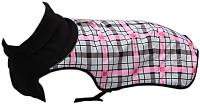 Попона для животных Scruffs Thermal / 937393 (36см, серо-розовый квадрат) -