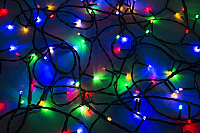 Светодиодная гирлянда Neon-Night 120 LED 303-105 (12м, мультиколор) -