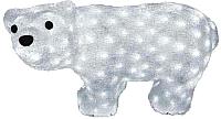 Светодиодная фигура 3D Neon-Night Белый мишка 513-252 -